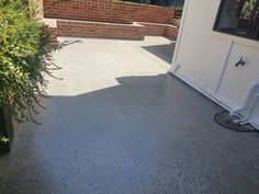 Now this is an outdoor entertaining area!! Medium exposure honed concrete with @contreataus hard seal giving it that beautiful pop! Cast on anti slip. Honed Concrete, Flooring Ideas, Outdoor Entertaining, Tile Floor, Seal, Sidewalk, It Cast, Pop, Medium