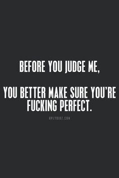 Et toi, es-tu parfait ?