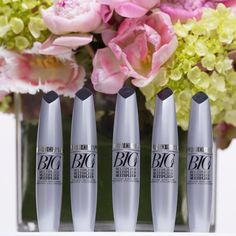 Instantly separate & volumize lashes with our Big & Multiplied Volume Mascara!