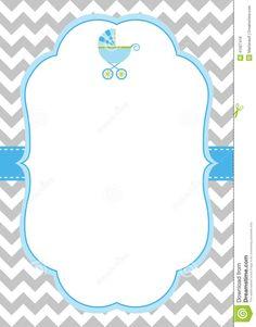 Free Chevron Border Templateadmin Admin | Baby Shower Ideas ...