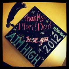Phi Sigma Sigma grad cap. If only IUS would let us do that.