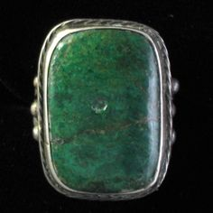 vintage old green turquoise