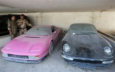 The Lost Car Collection Of Uday Hussein