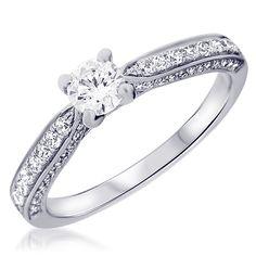 Jewels – Engagement ring – Diamond – Silver – Zeina Wedding rings – Manelle Source by mariageetrobe My Perfect Wedding, Beautiful Wedding Rings, Wedding Accessories, Jewelry Accessories, Jewelry Design, Alternative Wedding Rings, Diamond Girl, Ring Verlobung, Dream Ring