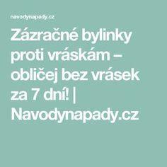 Zázračné bylinky proti vráskám – obličej bez vrásek za 7 dní! | Navodynapady.cz