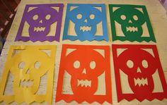 Twig and Toadstool: Rainbow Skull Garland
