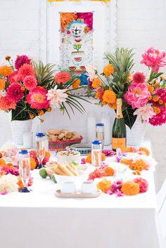 DIA DE LOS MUERTOS | Wedding Theme inspiration