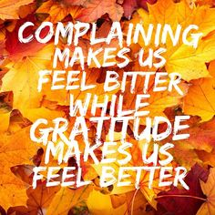 "0 Likes, 1 Comments - The Redeemed Way (@theredeemedway) on Instagram: ""Complaining makes us feel bitter, while gratitude makes us feel better. … Join the gratitude…"""