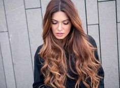 Find out why tiger eye hair, an updated take on balayage, is the gorgeous new beauty trend you need to try this fall. Hair Color Highlights, Ombre Hair Color, Cabelo Tiger Eye, Trending Hairstyles, Cool Hairstyles, Tiger Eye Hair Color, Tiger Hair, New Hair Trends, Ombré Hair