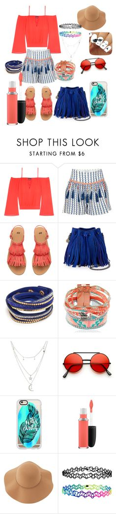 """""""Untitled #68"""" by fashionforwardfaith ❤ liked on Polyvore featuring Bebe, Alphamoment, STELLA McCARTNEY, Hipanema, Charlotte Russe, Casetify, MAC Cosmetics, Sans Souci and Accessorize"""
