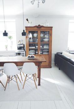 Home Decorating Ideas Modern Dining room Design Scandinavian, Sweet Home, Living Spaces, Living Room, Home Fashion, Home And Living, Modern Decor, Room Inspiration, Room Decor