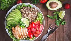 Ein ausgewognener Ernährungsplan ist ideal für den Muskelaufbau