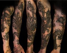 WANT THIS Phoenix by Mark Galloway @ Windhorse Tattoo, Kansas City, MO