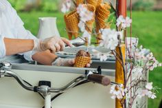 Vintage ice cream bicycle from Honey Bees Vintage Tees  (Photo by Helena Dolby Photography)