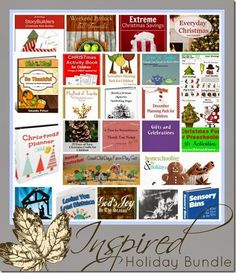 Inspired Holiday Bundle only $25 for 25 homeschool mom friendly products!