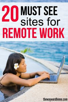Want to get you start working remotely and living a life of freedom? Check out these 20 websites where you can find awesome remote work options. Make More Money, Extra Money, Bus Life, Online Entrepreneur, Budgeting Money, Digital Nomad, Work From Home Moms, Earn Money Online, Money From Home