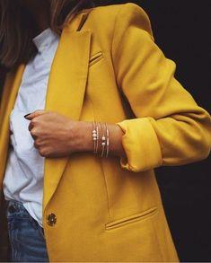 Die 13 besten Bilder von Gelber Blazer | Outfit, Outfit