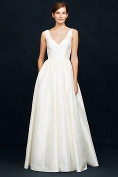J.Crew's Spring Wedding Lookbook Goes After The Minimalist Bride's Heart #refinery29