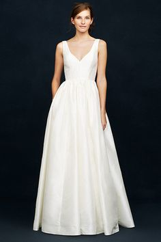 not even a little bit looking for wedding dresses but if i was i like this neckline