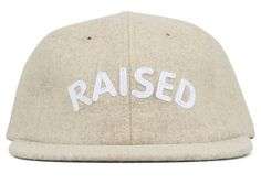 Raised By Wolves RAISED POLO CAP Oatmeal