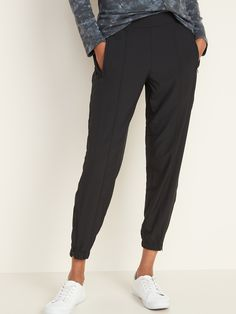 Mid-Rise StretchTech Jogger Pants for Women | Old Navy