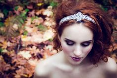 GREEN WEDDING SHOES // 2014 Collection | OLIVIA HEADPIECES