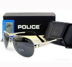 Štýlové slnečné okuliare POLICE silver + puzdro v inzecii www.predavajmodu.sk