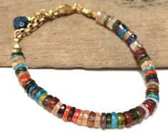 Boho Everyday Rustic Stacking Bracelet African by LoveandLulu