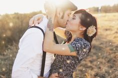 This engagement photo is so romantic. Tattooed Couples Photography, Couple Photography, Engagement Photography, Wedding Photography, Photography Ideas, Engagement Couple, Engagement Pictures, Engagement Shoots, Engagement Ideas