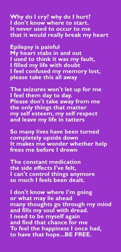 sums up those of us with epilepsy; please support epilepsy awareness. Temporal Lobe Epilepsy, Epilepsy Seizure, Epilepsy Symptoms, Epilepsy Facts, Epilepsy Quotes, Crohns Awareness, Epilepsy Awareness Month, Epilepsy Tattoo, Seizure Disorder
