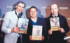 Lobo Carrasco, Eusebio y Steve Archibald presentan FCB iCroms la primera app del FC Barcelona de cromos digitales