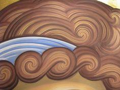 Розпис кафедрального собору (купо.. Orthodox Icons, Byzantine Art, Writing Icon, Face Icon, Catholic Art, Christian Art, Art Icon, Angel Art, Sacred Art