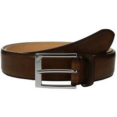 To Boot New York Belt (Chester) Men's Belts ($150) ❤ liked on Polyvore featuring men's fashion, men's accessories, men's belts, mens genuine leather belts, mens leather accessories, mens leather belts and mens belts
