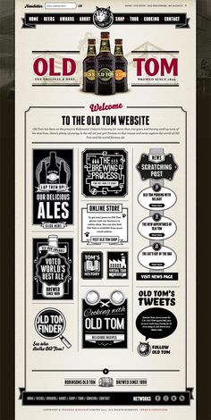 Moshen has redesigned website for brewer Robinsons