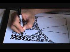 Zentangle tutorial #2