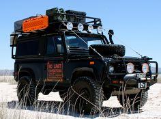 No Limit X - Land Rover Defender 90 I 110 Customized for Adventure Travel www.landroversanjuantx.com