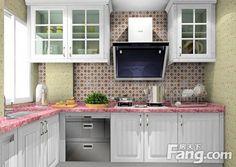 小戶型廚房怎麼裝修才功能齊全?爆款小廚房裝修效果圖!