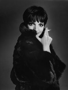 Liza Minnelli - was attending Siegfried & Roy's private New Year's Eve party after their show.  The party started to wind down and Liza made her entrance.  This was when the private parties were still being held in Siegfried & Roy's backstage apartment.