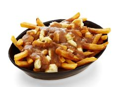 Get Poutine Recipe from Food Network (Canadian classic with french fries, cheese curds and gravy) Sauce Poutine, Food Network Recipes, Cooking Recipes, Game Recipes, Easy Cooking, Cooking Ideas, Beef Recipes, Chicken Recipes, Vegan Recipes