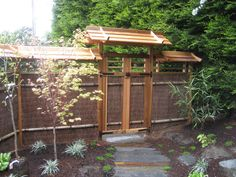 Japanese Zen Gardens Plan | The gate , inviting but profound as a barrier between private and ...