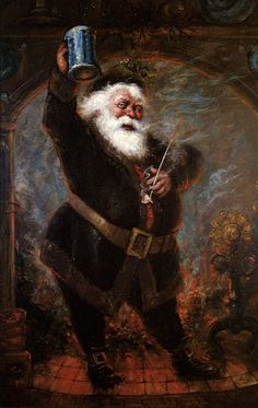 """""""And his clothes were all covered with #ashes and soot"""". #Santa #chimney {Pearl Bailey - Jingle Bells Cha Cha}"""