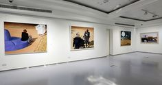 Julio Larraz, Rules of Engagement, Installation Shot 3, ContiniArtUK Gallery London