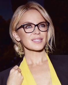 Specsavers Geraldton is delighted to introduce another exclusive range of designer glasses to their collection, designed by pop and fashion icon Kylie Minogue. Glasses For Oval Faces, Cute Glasses, New Glasses, Girls With Glasses, Women In Glasses, Stylish Glasses For Women, Images Of Glasses, Ladies Glasses, People With Glasses