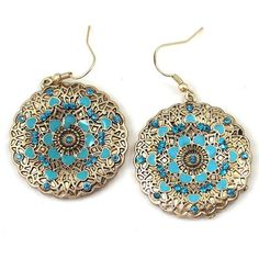 0004742_boho-style-blue-rhinestone-flower-round-dangle-earrings.jpeg... ❤ liked…