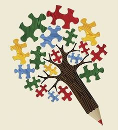 4 mid-year reflection activities for teachers and students powered by your mobile device. Puzzle Piece Crafts, Puzzle Art, Puzzle Pieces, Color Puzzle, Autism Awareness Tattoo, Autism Tattoos, Autism Crafts, Autism Awareness, Autism Awareness