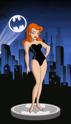 Batman Poster, Batman Comic Art, Joker Art, Gotham Batman, Batman Robin, Poison Ivy Cartoon, Poison Ivy Dc Comics, Poison Ivy Batman, Dc Comics Heroes