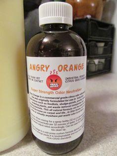 Angry Orange Pet Odor Eliminator Is THE Best Odor Eliminator I Have Ever Tried!