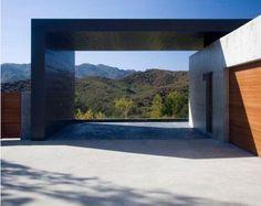 Minimalist carport modern architecture pinterest for Carport 2 posti