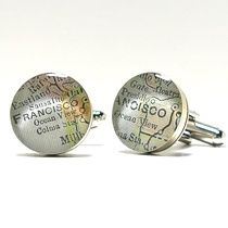 Custom Made to Order Map Jewelry - dlk designs map jewelry