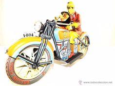 Juguete antiguo en todocoleccion: Payá Moto TUF TUF Edición limitada año 1985 ref 978